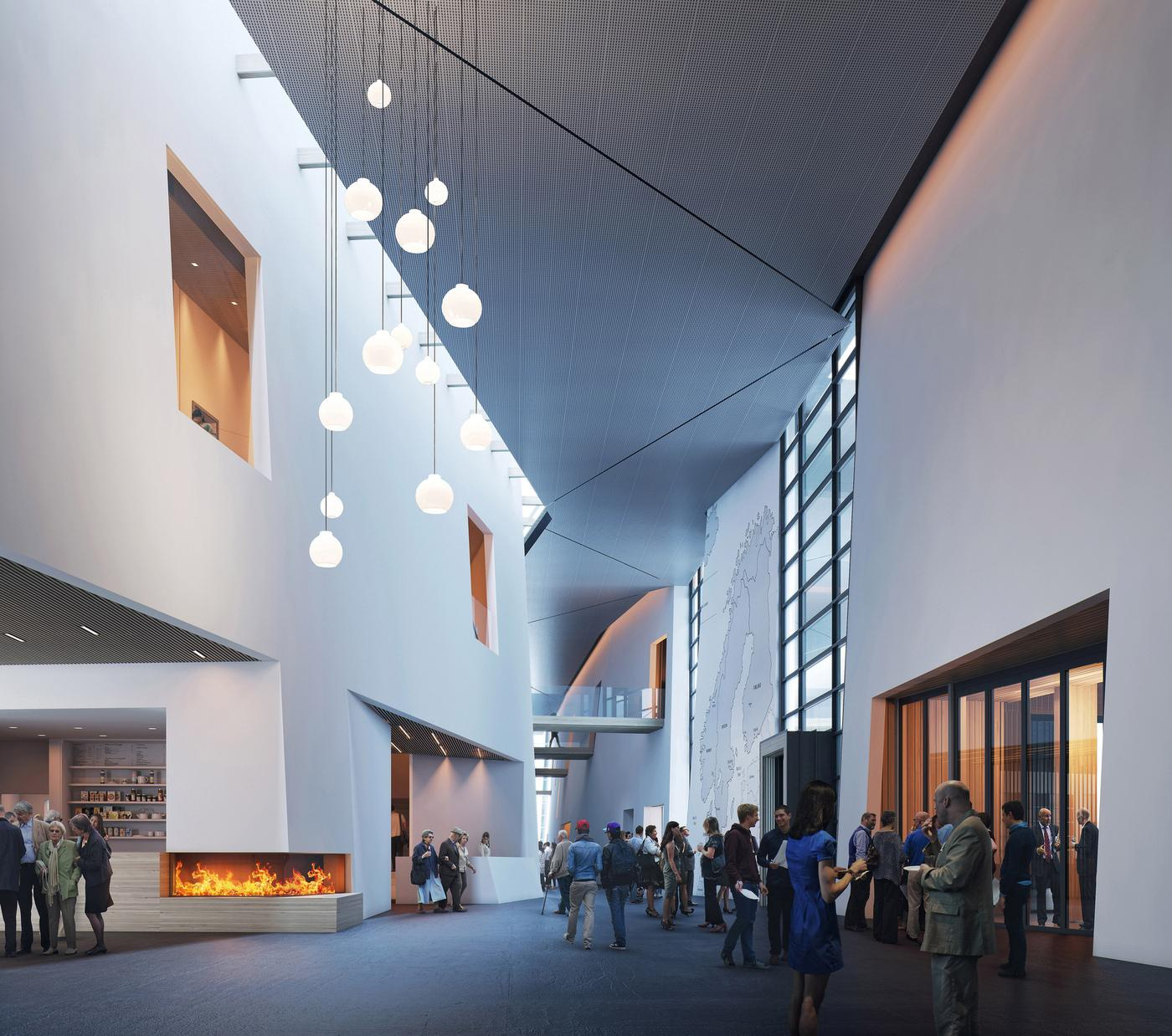 <p>Head to Ballard the weekend of May 5th for the New Nordic Heritage Museum Grand Opening. The modern 57,000-square foot building on Market Street showcases Nordic and Nordic American art, community and history along with educational opportunities. (Image: MIR)</p>