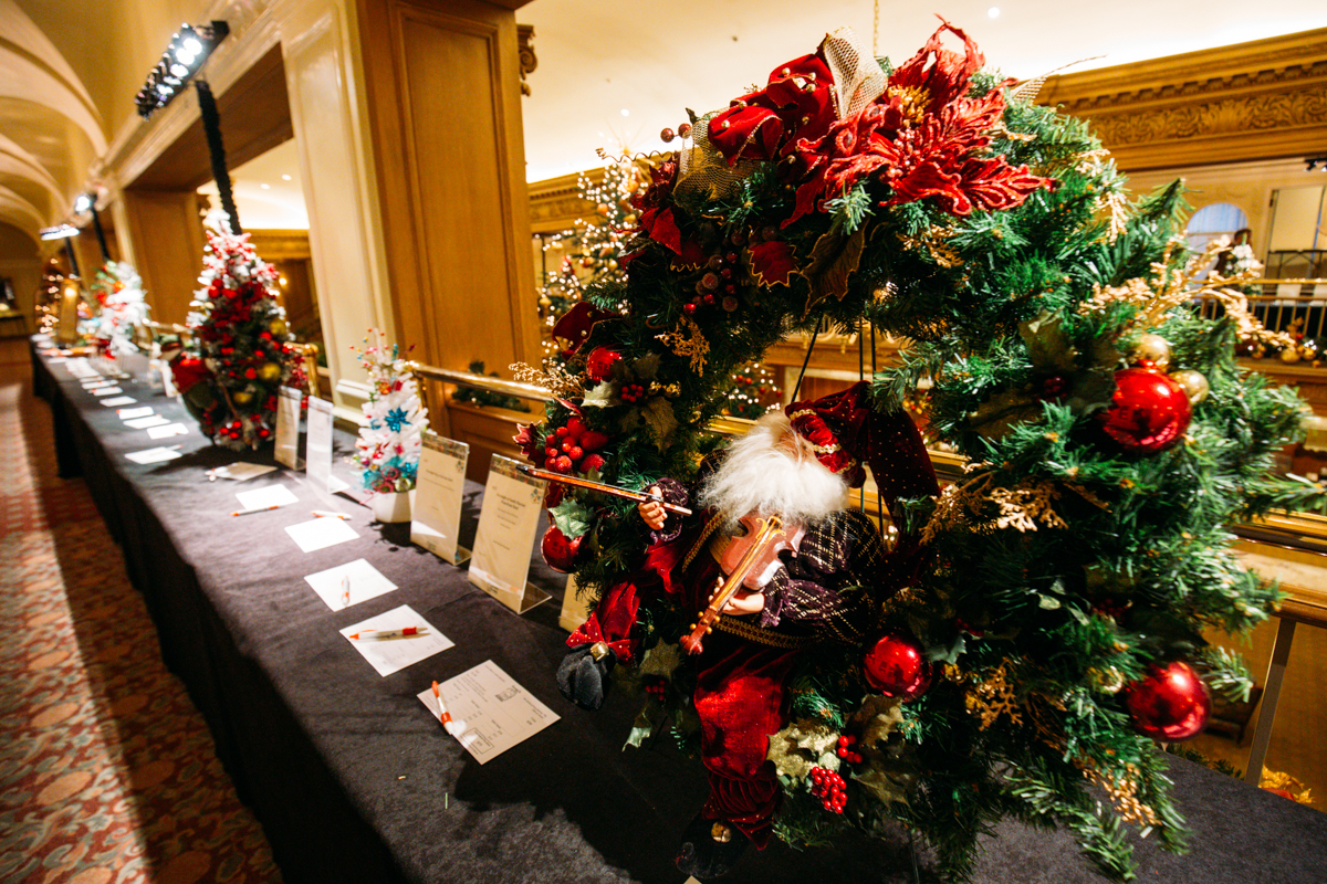 Festival Of Trees Lights Up Downtown Seattle