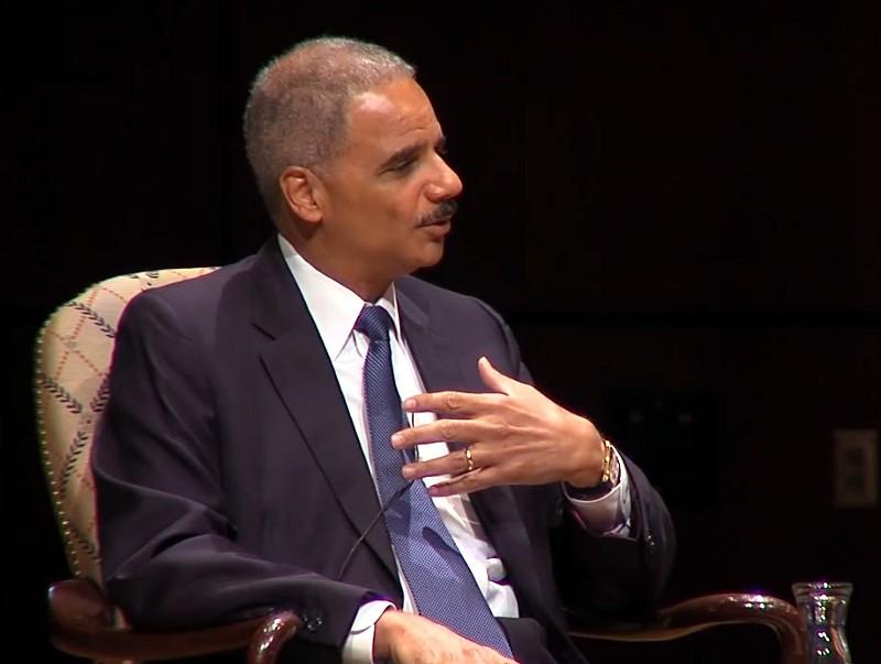 Attorney General Eric Holder discusses 50 Years Forward:  Empowerment Week.
