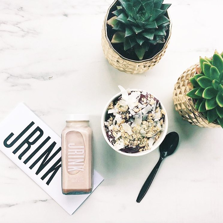 Make juice more than a snack with a  signature multi-day cleanse from this local juicery. (Image: Courtesy JRINK)