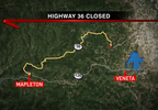 KVAL_Highway 36 closed map.png