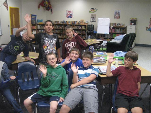 Chapin Elementary School Fourth Graders