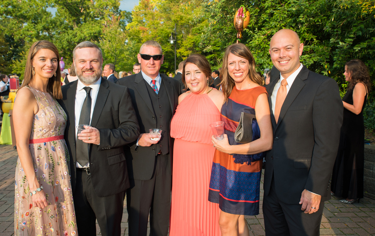 Nina and Will Fry, Addison and Sarah Fry, with Priscilla and Eric Peters / Image: Sherry Lachelle Photography // Published: 9.16.17