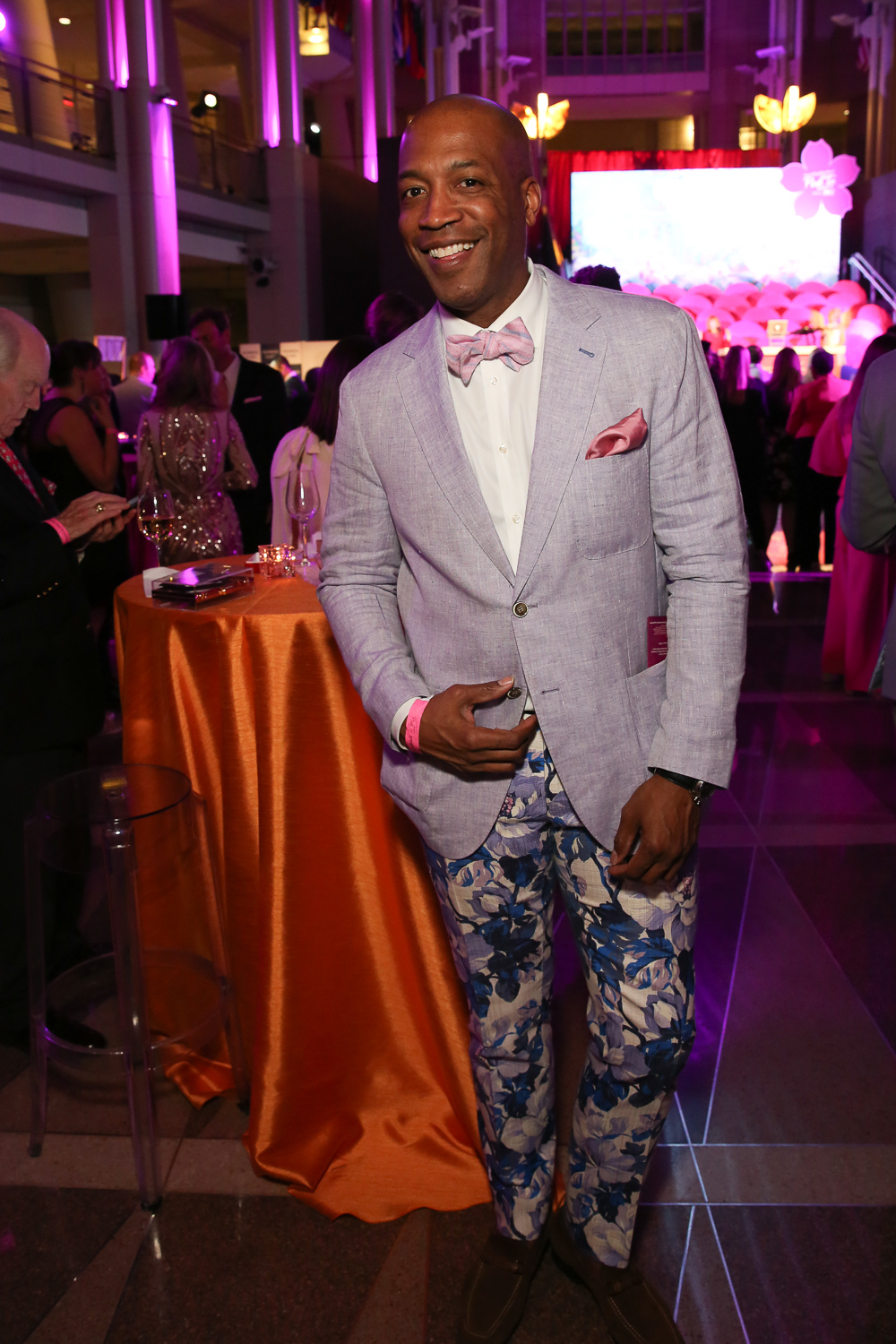 Check out Barnette Holston's super cool pants.{ } (Amanda Andrade-Rhoades/DC Refined)
