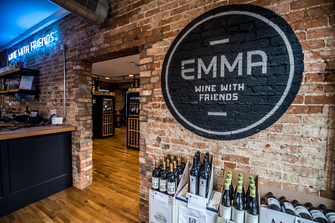 The East End wine bar opened in December 2019. It offers over 40 wines on tap and carries over 1,000 bottles. / Image: Catherine Viox // Published: 2.20.20
