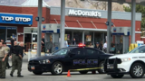 Four Utah officers burned after trying to save man who set himself on fire at gas station