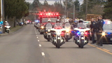 Photos: Police escort for fallen sheriff's deputy