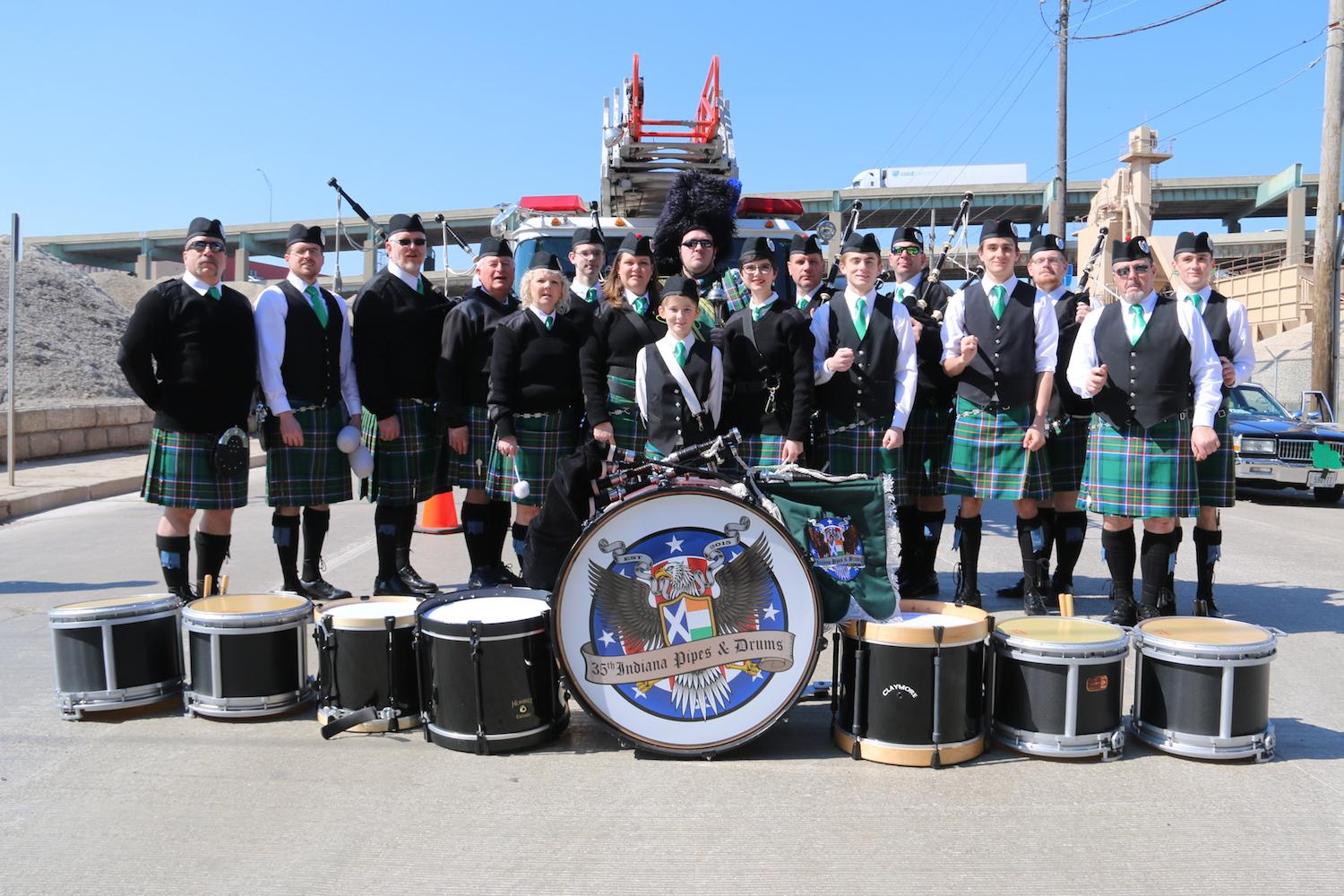 The 2018 St. Patrick's Day Parade took place on Saturday, March 10 in Downtown Cincinnati. / Image: Dr. Richard Sanders // Published: 3.11.18