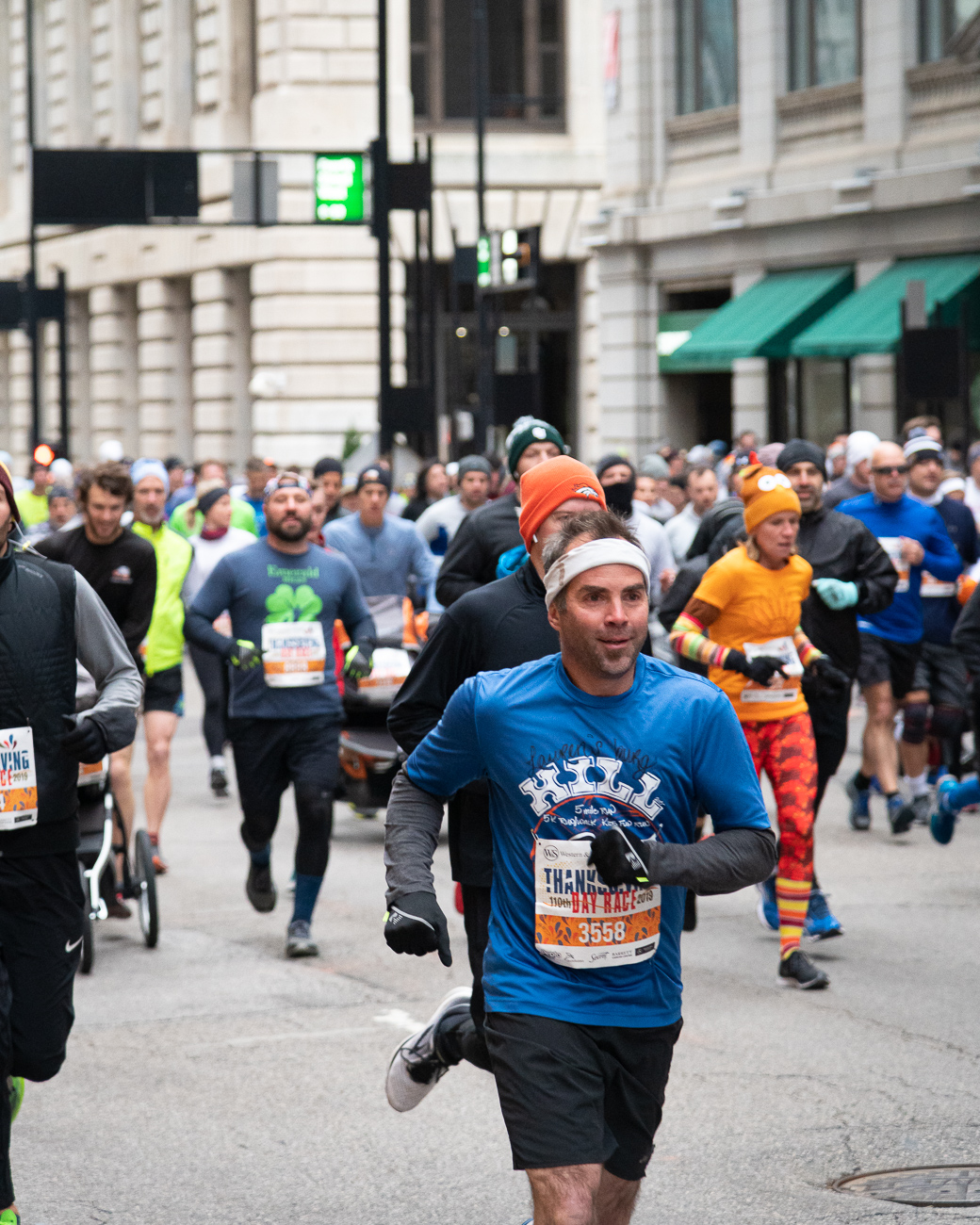The 110th Annual Western and Southern Thanksgiving Day 10K Run/Walk was held on Thursday, Nov. 28, 2019. / Image: Phil Armstrong, Cincinnati Refined // Published: 11.28.19
