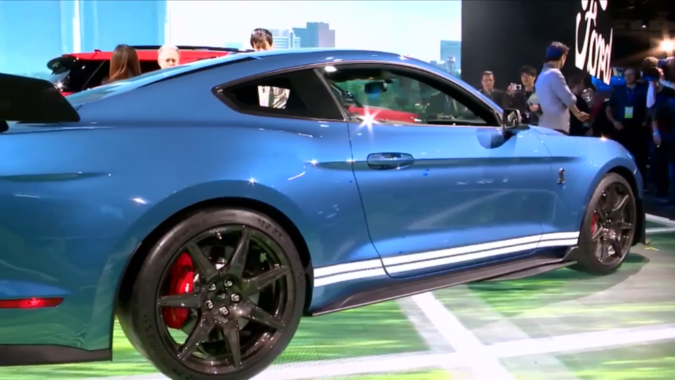 Ford And Cadillac Suvs Toyota Sports Car Star At Auto Show Wwmt