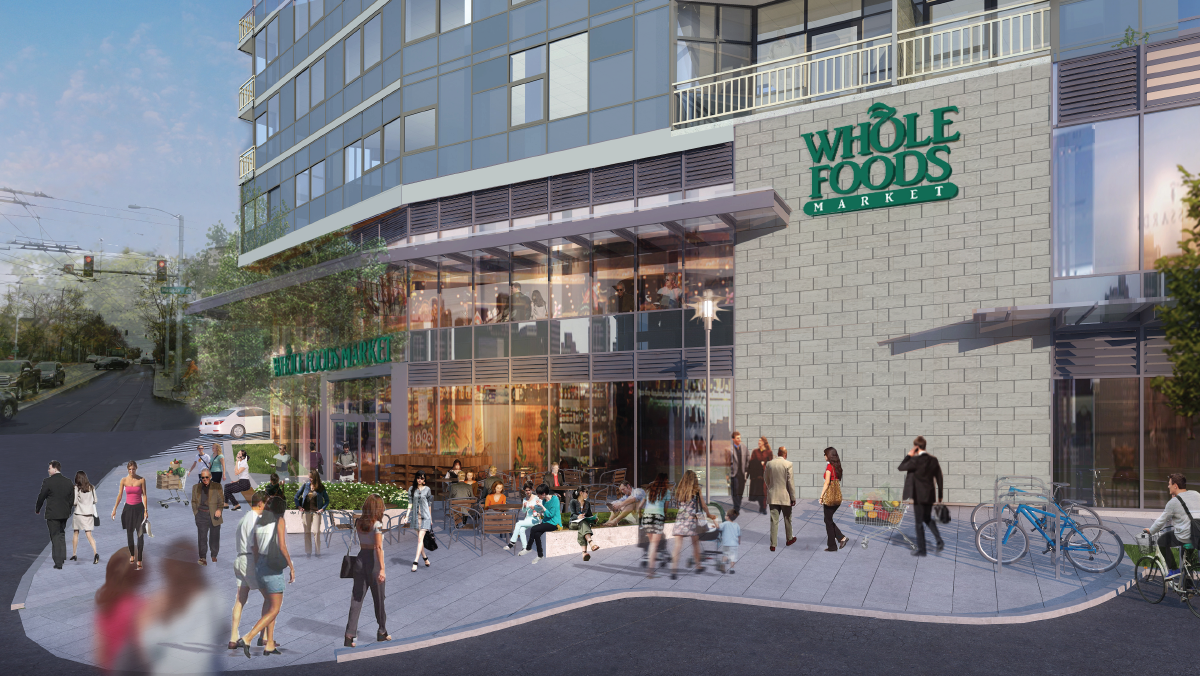 Whole Foods Market is targeting October 2018 to open on the ground floor of The Danforth.