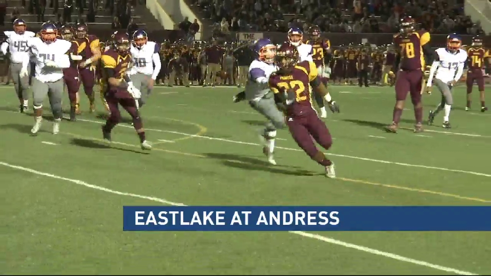 Highlights: Eastlake vs Andress
