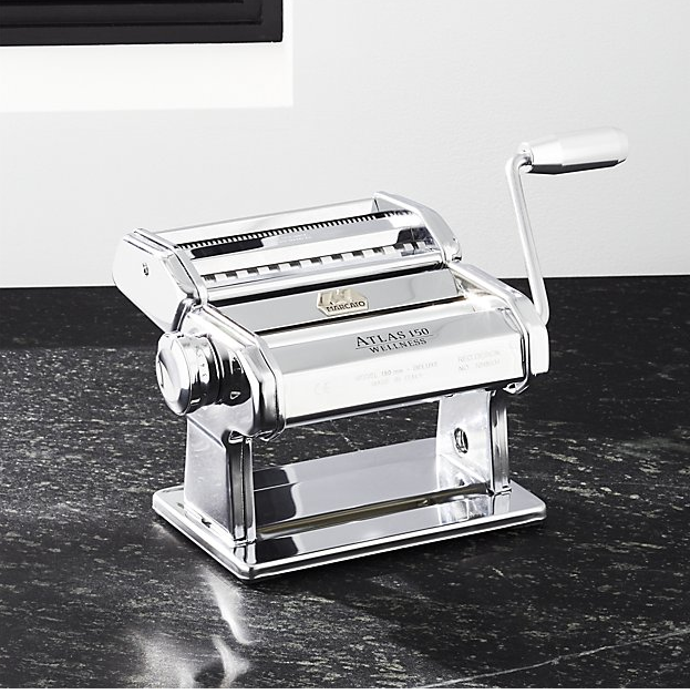 Atlas 150 Aluminum Pasta Maker ($79.95). Find on crateandbarrel.com. (Image: Crate & Barrel)
