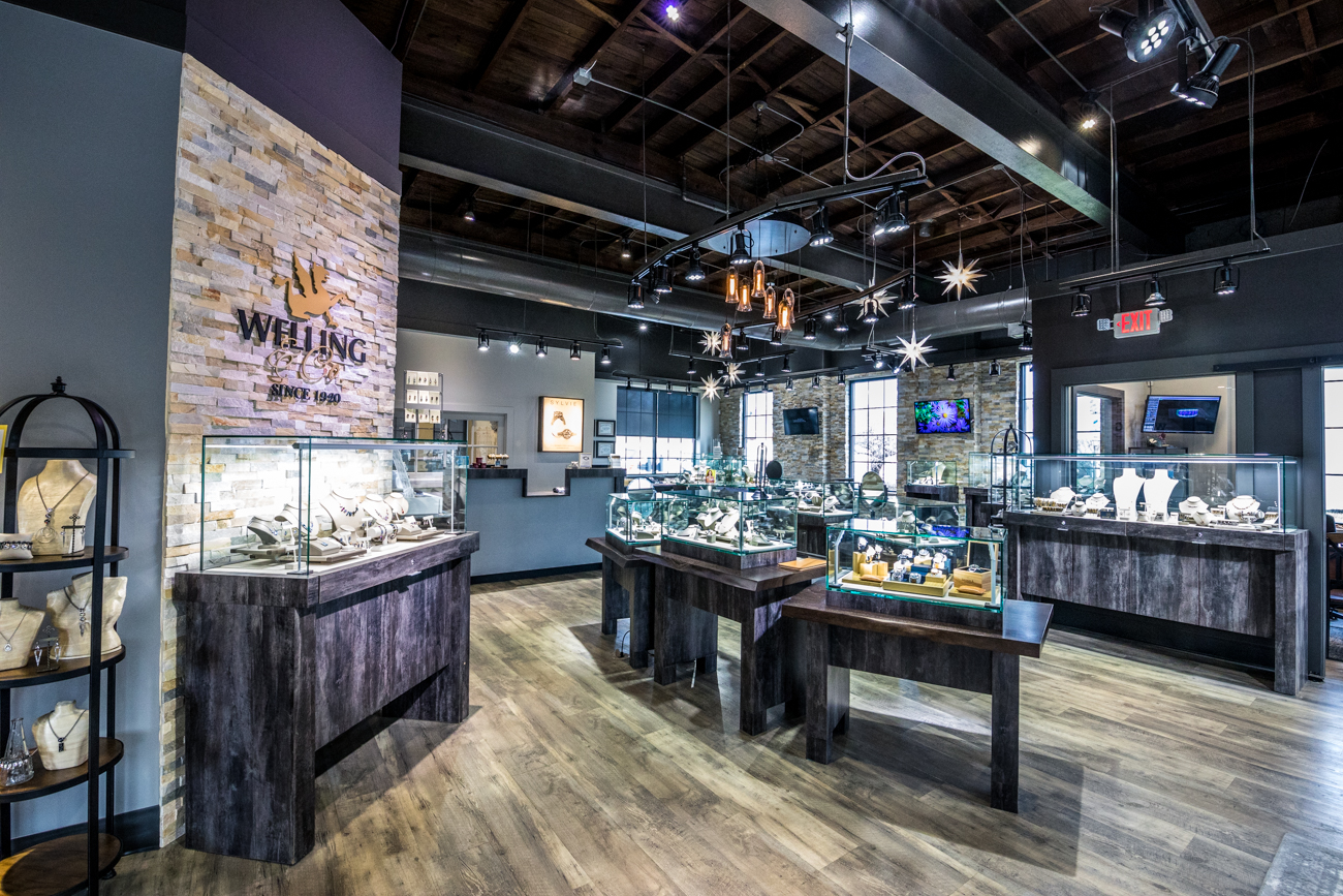 Welling & Co. is a family-owned jeweler that specializes in selling and repairing fine jewelry. Founded by Richard Welling, it's been in the Cincinnati area since 1920 and has operated under four generations of the Welling family ever since. It has two locations: one in Loveland (pictured) and one in West Chester. Over the years, the quality of care and expertise hasn't faded, and they continue to evolve with the times, using the latest technology to help guide customers through the jewelry-buying process. WEST CHESTER ADDRESS: 8992 Cincinnati Dayton Road (45069) / Image: Catherine Viox // Published: 4.14.20