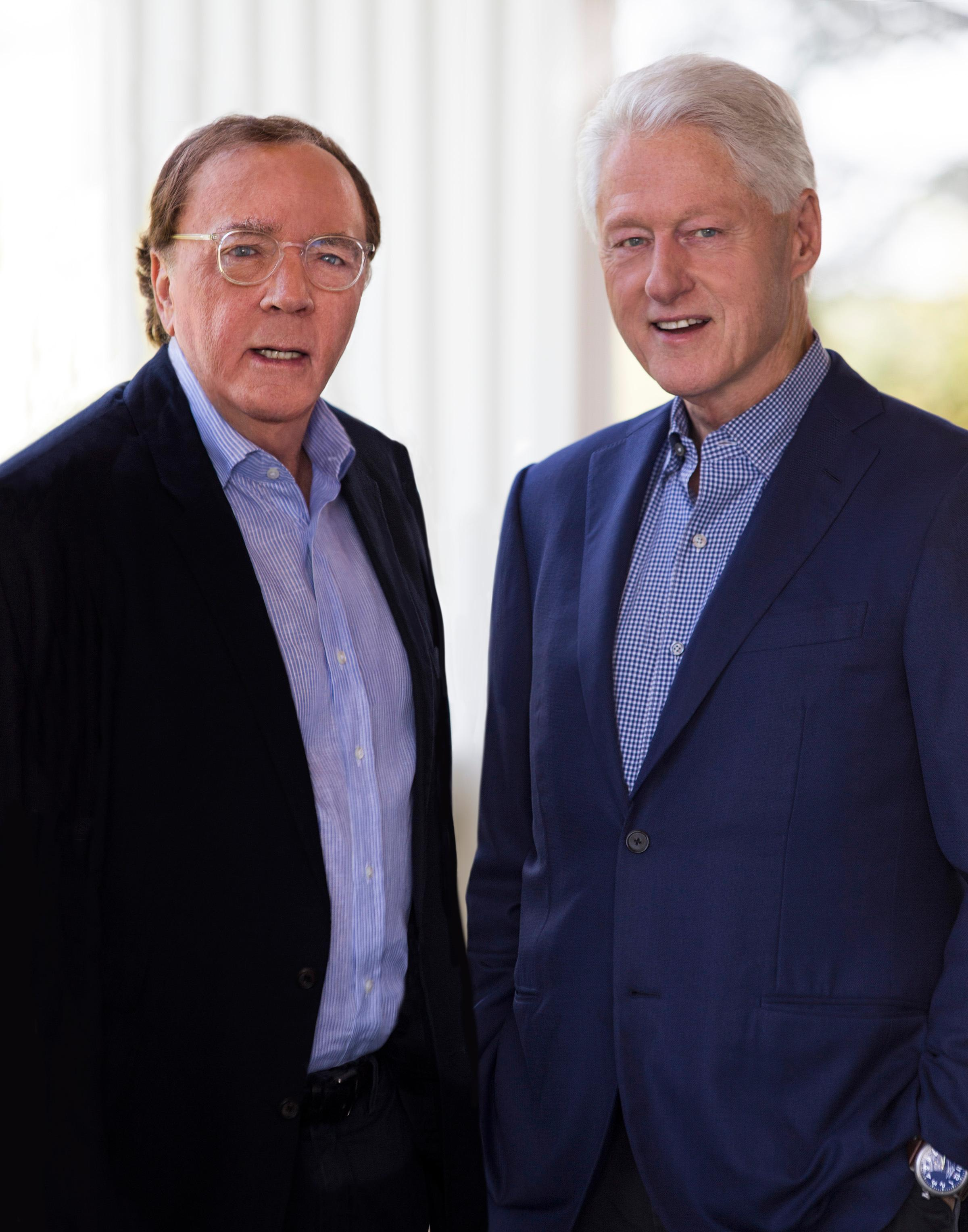 James Patterson and Bill Clinton, co-authors of The President is Missing{ } (Image:{ } David Burnett){ }