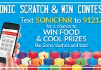 Sonic Scratch & Win Contest