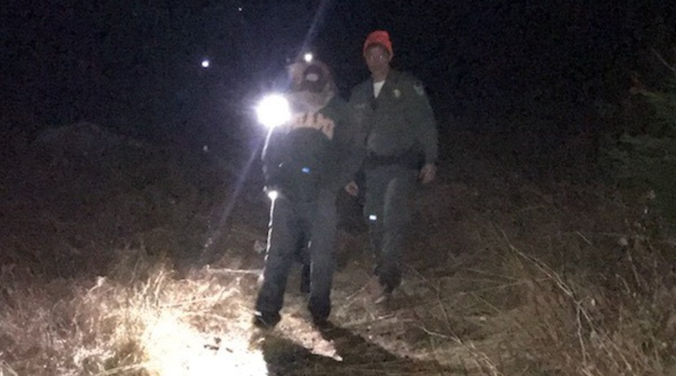 Newcastle man uses shouts to help wardens find him in northern Maine Woods