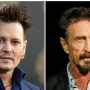 Depp to star in film about McAfee antivirus software inventor