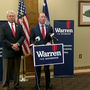 GOP gubernatorial candidate John Warren holds news conference at HGTC