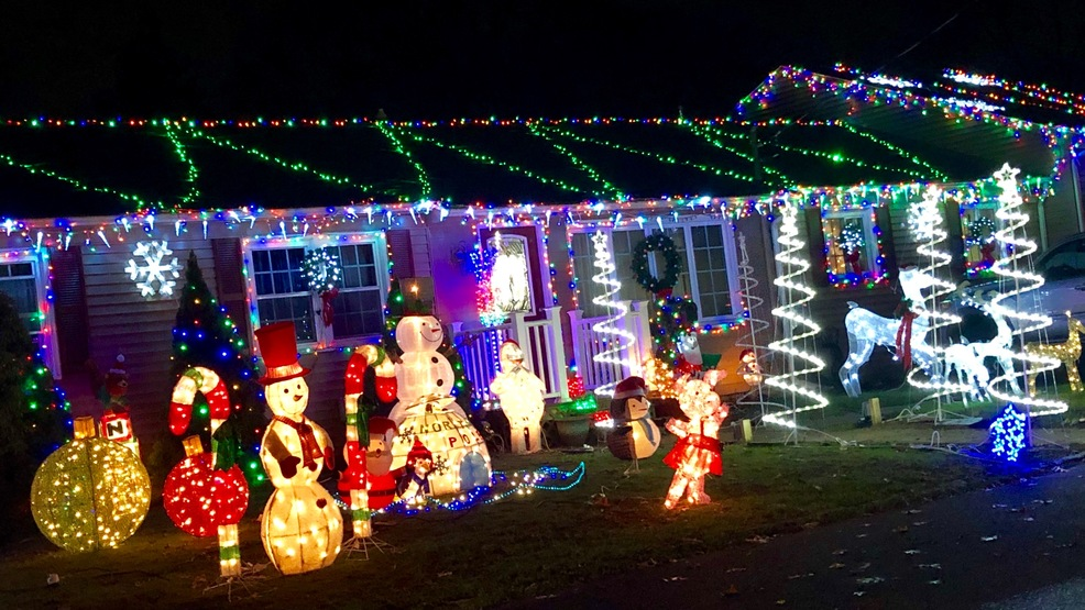 The Silcox Family Holiday House, 74 Vera Street, Warwick, R.I. (WJAR) - Homes For The Holidays: Dazzling Displays Across Southern New