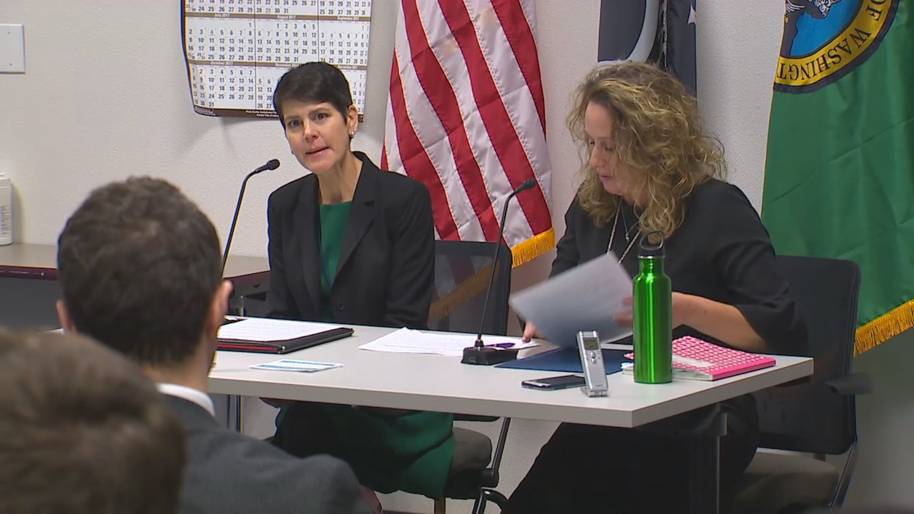 A hearing room in Tumwater was crowded as people testified about a proposal for a third gender on birth certificates. (Photo: KOMO News)