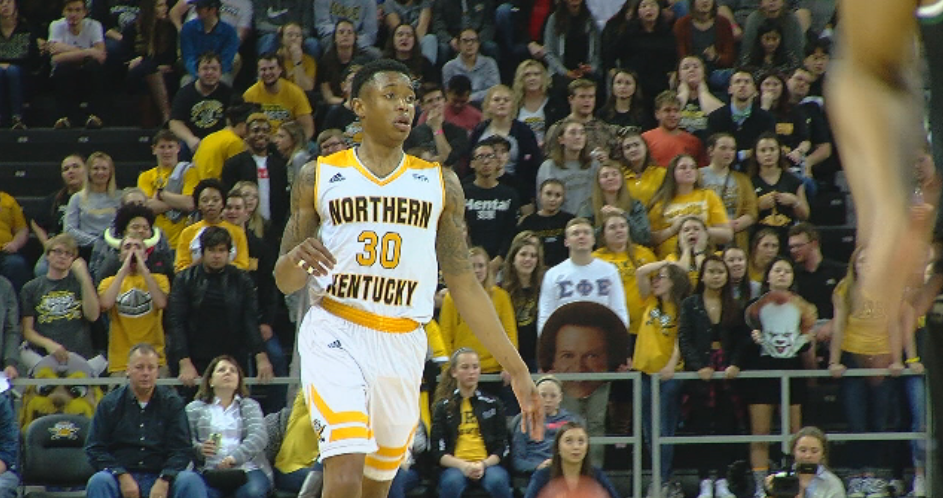 Wright State holds off NKU 84-81 for Horizon league lead (WKRC)<p></p>
