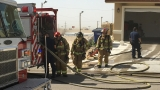 Fire damages newly built duplex in east El Paso