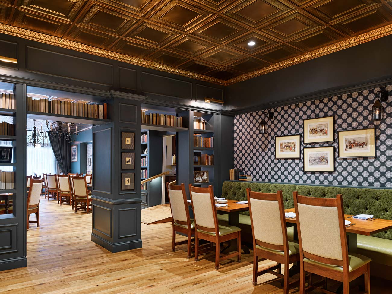 The Dickens Dining Room renovation at The Golden Lamb / Image courtesy of The Golden Lamb // Published: 10.16.20