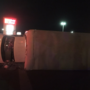 Truck turns on its side after crash in east El Paso