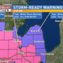 Winter Storm Watch upgraded to Warning for Wednesday