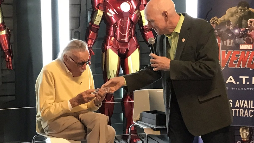 ONE ON ONE: Comic book legend Stan Lee receives key to the Las Vegas Strip