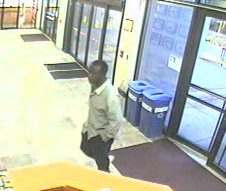 Gainesville Police released this image of a man they say attacked a city employee Wednesday morning.