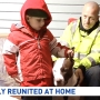 Child who survived hit and run reunited with heroic dog