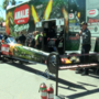Terry McMillin Top Fuel dragster demonstration previews NHRA Gatornationals