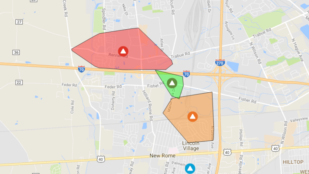 Power Outage Affects Thousands In Hilliard Area Wtte