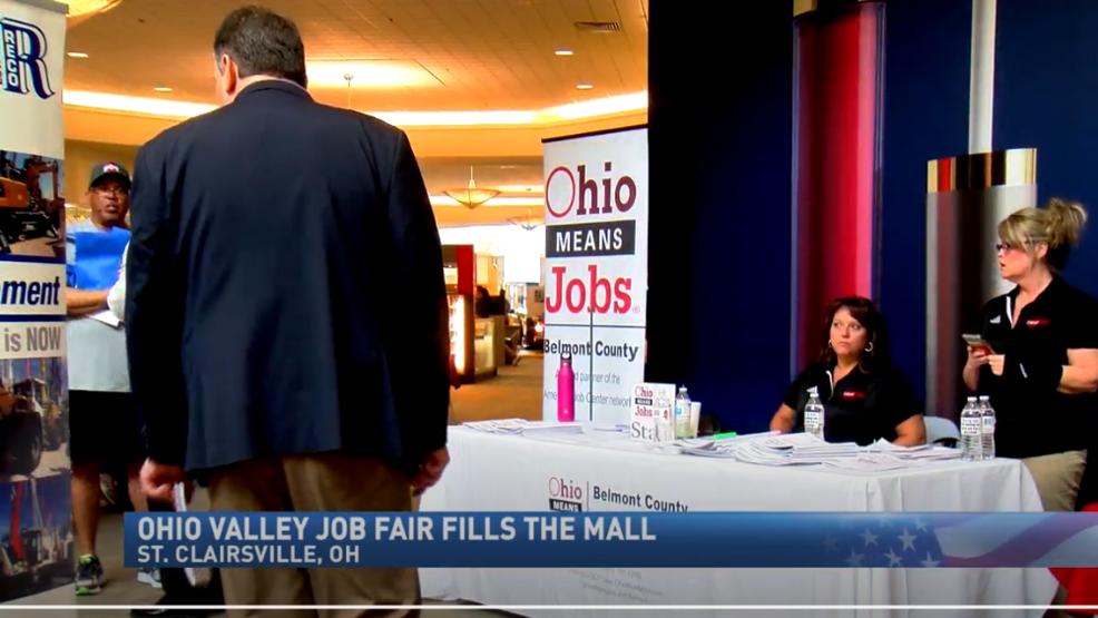 Ohio Valley Job Fair takes place at mall   WTOV