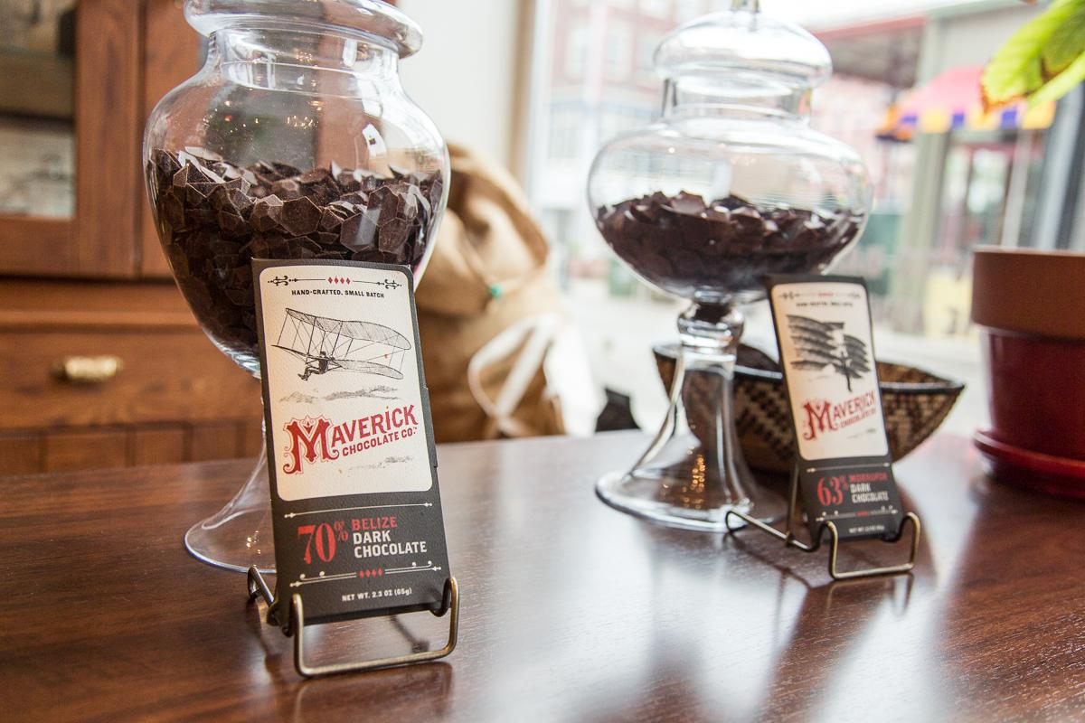 Maverick Chocolate Co. is located at Findlay Market (129 W Elder St., 45202).  --  Image: Daniel Smyth Photography
