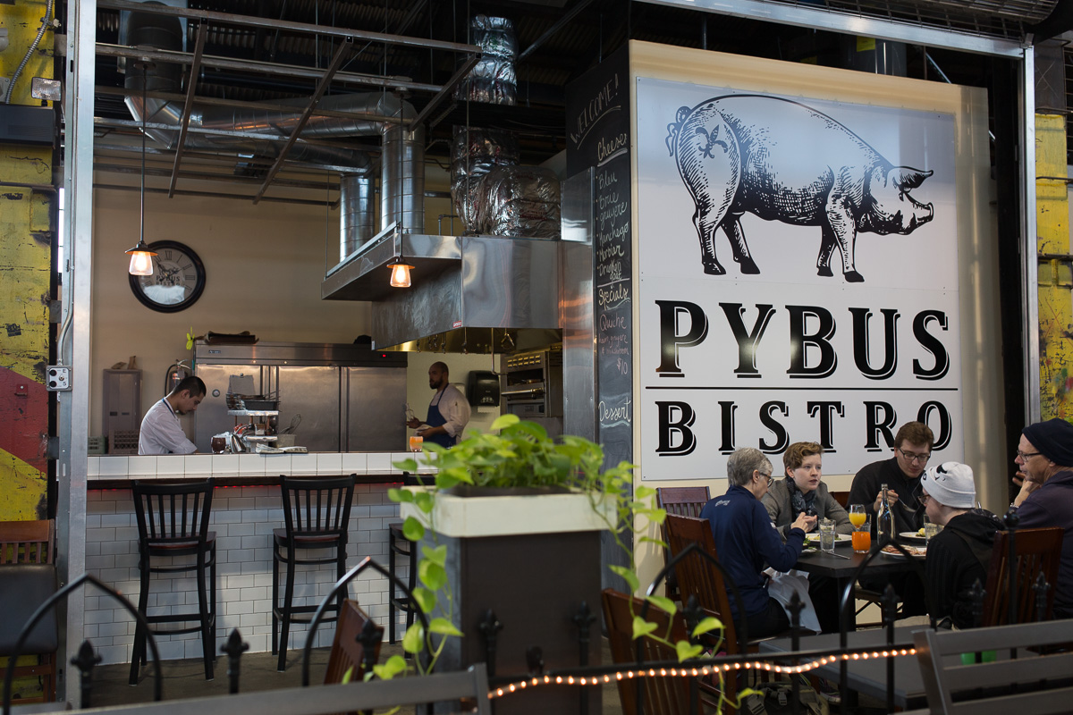 Pybus Bistro at Pybus Market (Image: Paola Thomas / Seattle Refined)