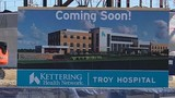 Kettering Health Network 'tops out' new hospital in Troy