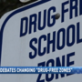 Florida lawmakers considering change to drug-free zones