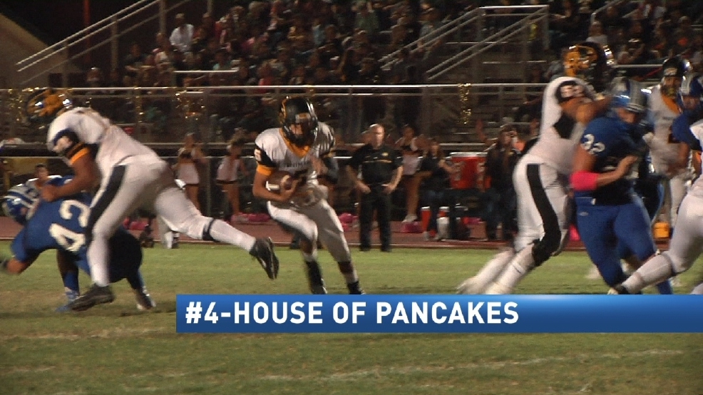CBS 4 Top 4 Plays Of The Week 10-10-16