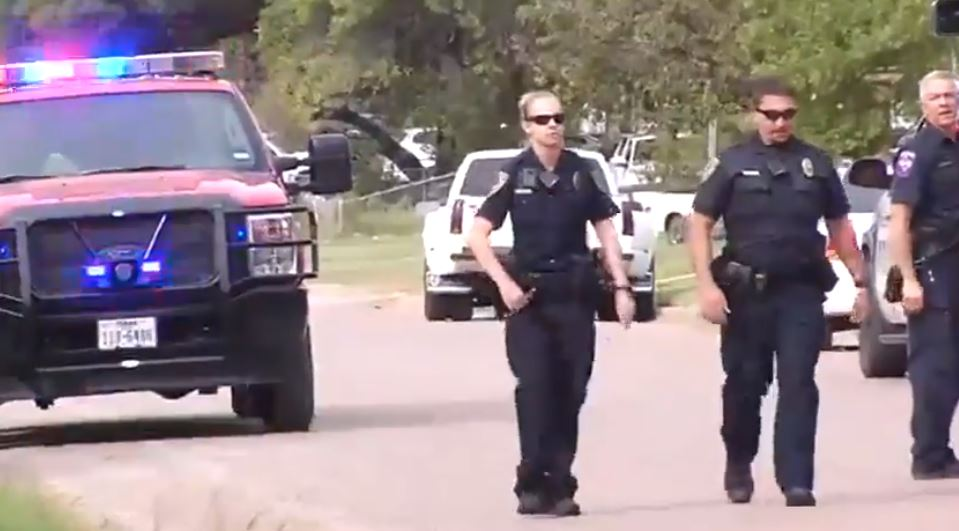 Abilene police responded to a shooting in an alley in the 1400 block of Kirkwood Street at about 3:30 Sunday afternoon.