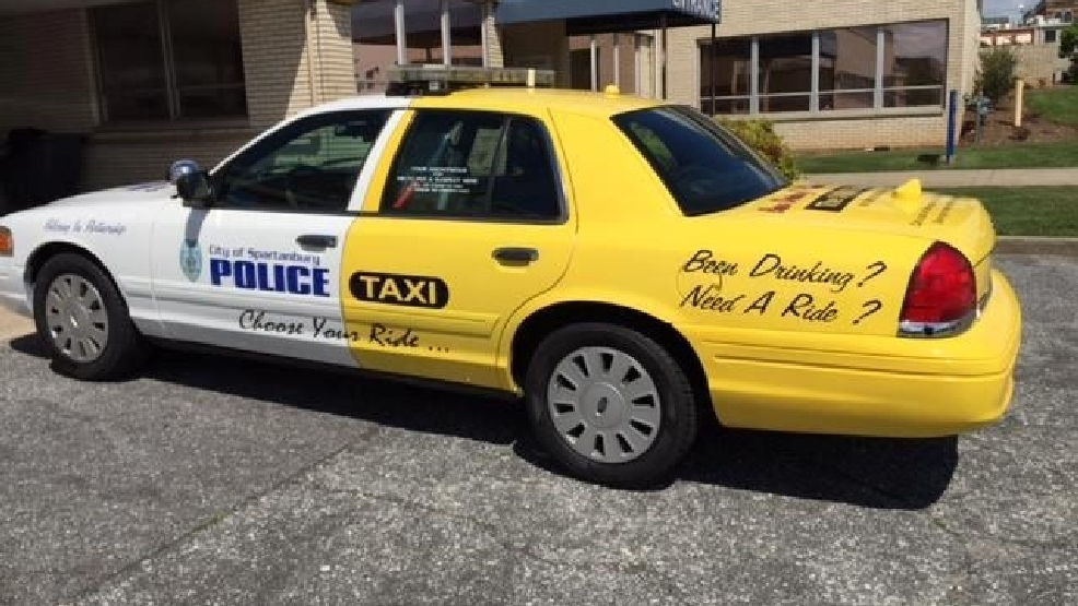 Spartanburg Police Paints Cruiser Like Taxi Wpde