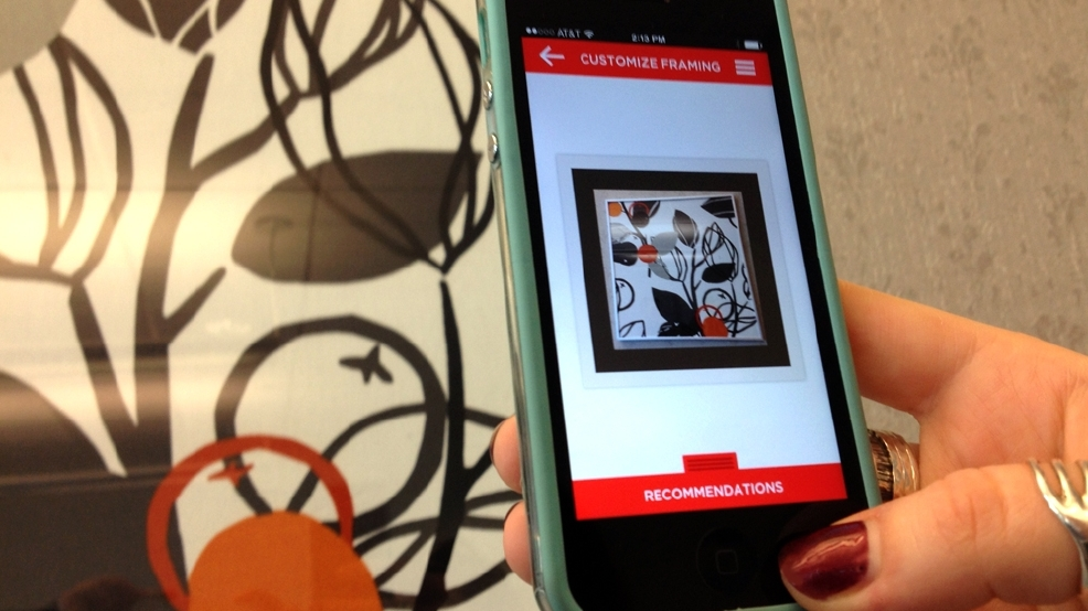 Framing art? There\'s an app for that   Seattle Refined