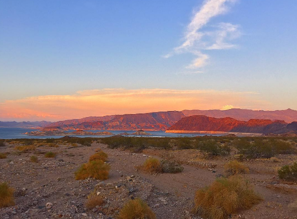 Lake Mead (Photo: Instagram| screensong)