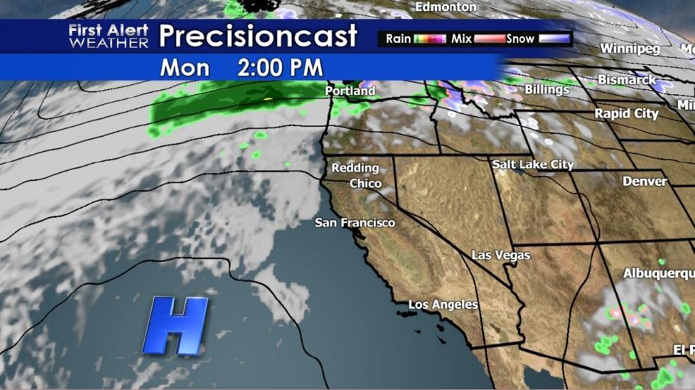 Weather Forecast Dry Monday But Rain Krcr
