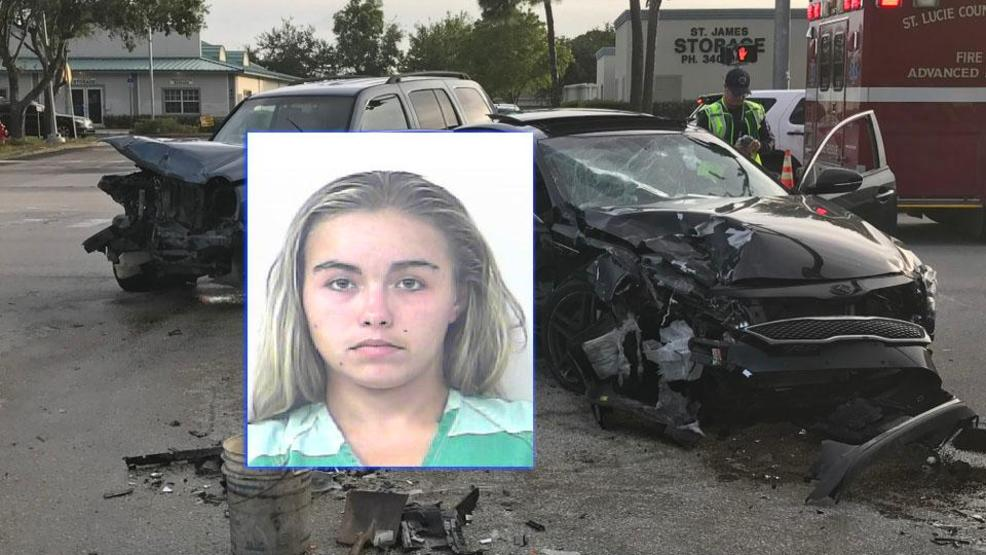 12-year-old girl wrecks car in Port St. Lucie | WPEC