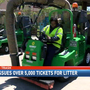 Mobile issues over 5,000 tickets for litter