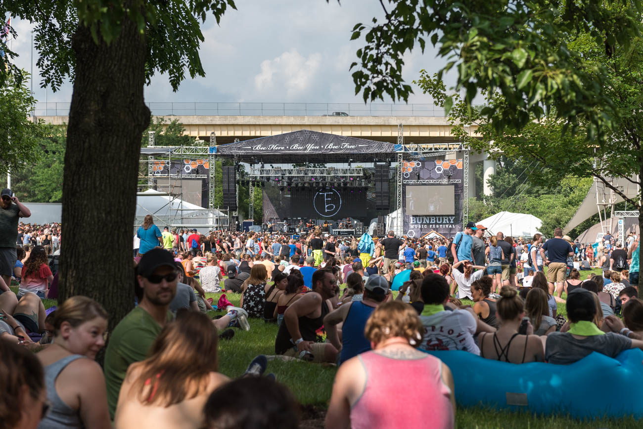 The Bunbury Festival took place June 1-3 at Sawyer Point and Yeatman's Cove. Headliners included The Chainsmokers, Incubus, and Jack White. / Image: Mike Menke // Published: 6.4.18