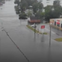 Town of Chinquapin, NC underwater after Tropical Depression Florence
